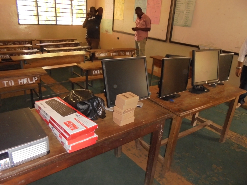 The Malindi Orphans Academy Computer Lab